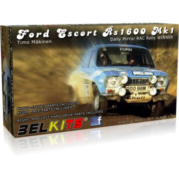 FORD ESCORT MK.I MAKINEN RAC RALLY 1973 - 1/24 kit