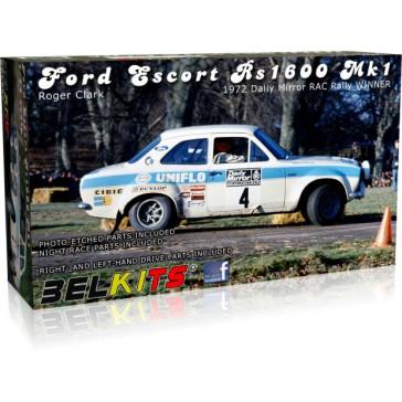 FORD ESCORT MK.I CLARK RAC RALLY 1972 - 1/24 kit