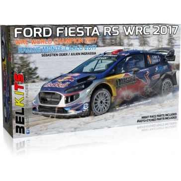 FORD FIESTA RS WRC 2017 WORLD CHAMPION OGIER I. MONTECARLO - 1/24 kit