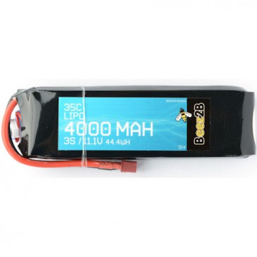 3S 11.1v 4000mAh 35C Lipo Battery (25 x 47 x 155mm - 326g)