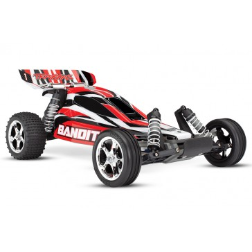 Bandit XL-5 TQ  (incl. battery/charger), Red