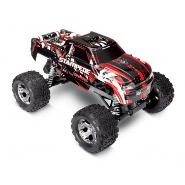 Stampede XL-5 TQ (no battery/charger), Red