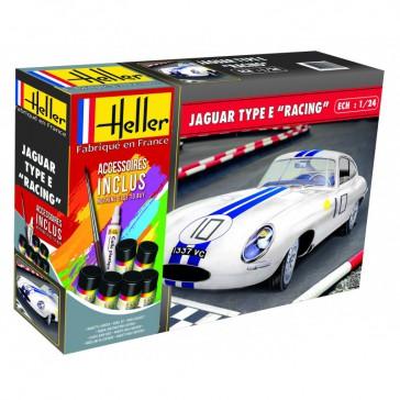 DISC.. Jaguar Type Le Mans 1/24