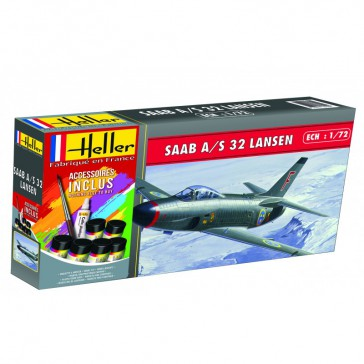 Saab 32 Lansen 1/72