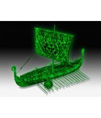 DISC.. Viking Ghost Ship 1:50