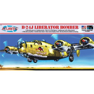 B-24J Bomber Buffalo Bill & Swiv. St.
