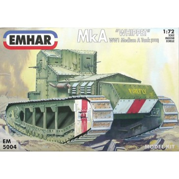 "MkA ""Whippet"" WW1 Medium A Tank (1918)  1/72"