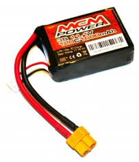 Soft case 120C 1600mha 3S 11,1V (XT60)