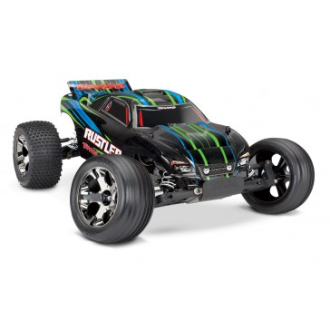 Rustler VXL TQi TSM (no battery/charger), Green