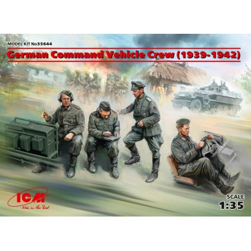 German Command Vehicle Crew (1939-1942) 1/35