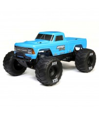 1/10 Amp Crush 2WD Monster Truck Brushed RTR International, Blue
