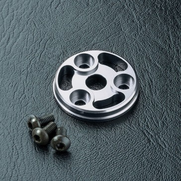 DISC.. RMX Alum. spur gear cover (silver)