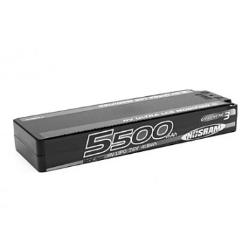 HV Ultra LCG Modified GRAPHENE-3 5500mAh 7.6V LiPo - 120C/60C
