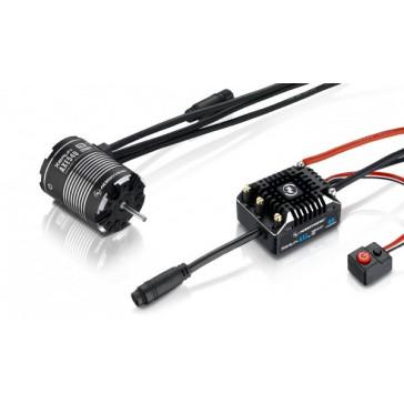 DISC.. Xerun Axe540 FOC Combo for Rock Crawler 1200kV