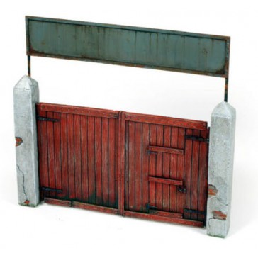 Diorama Accesories - Village Gate 15x15 cm.