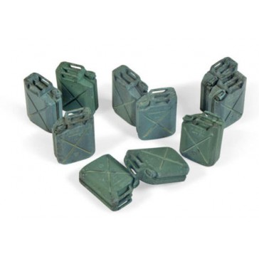 Diorama Accesories - Allied Jerrycan set