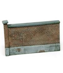 Diorama Accesories - Old Brick Wall 15x10 cm.