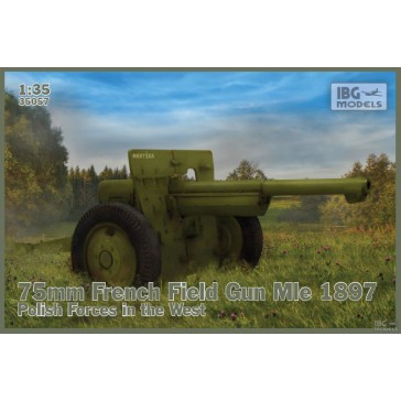 75mm French Field Mle 1897 Pol.1/35