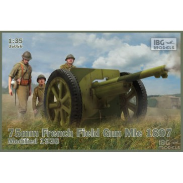 75mm French Field Mle 1897 '38 1/35