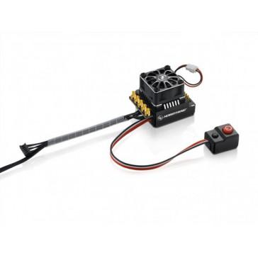 Xerun XR10 WP Pro Ext. Switch BL ESC Black 160A, 2-3s LiPo
