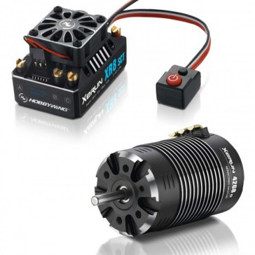 Xerun XR8 SCT Combo and 4268-2200kV for 1:8 4WD Buggy