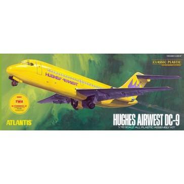 Hughes Airways DC9 Airliner 1/72
