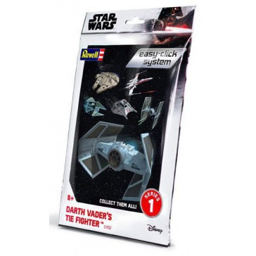 Star Wars Darth Vader's Tie Fighter Easy-click system