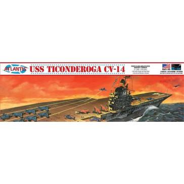 USS Ticonderoga Carrier CV14  1/500