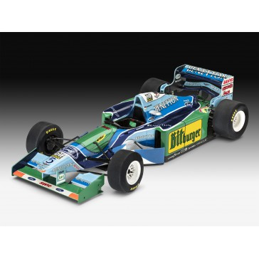 COFF. CAD. 25 ANS BENENTTON FORD 1:24