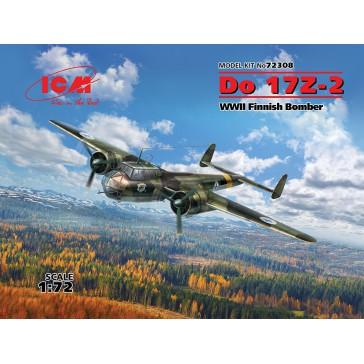 Do 17Z-2. WWII Finnish Bomber