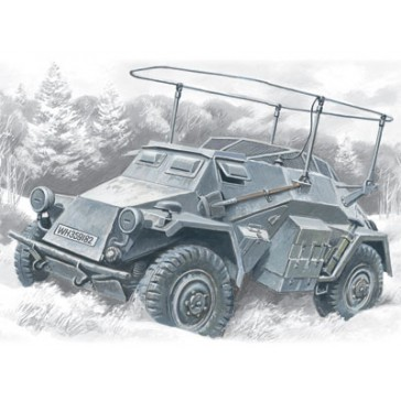 ICM Sd.Kfz.261 Radio Vehicle 1/72