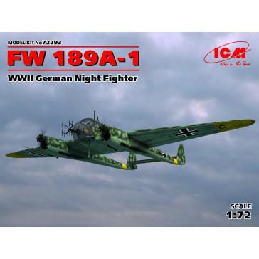FW 189A-1. WWII German Night 1/72