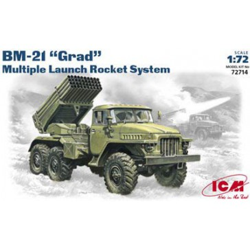 "ICM BM-21 ""Grad"" Rocket Launch 1/72"