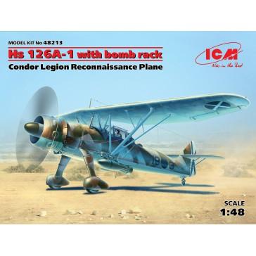 HS126A-1 with bomb Rack Condor 1/48
