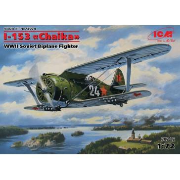 ICM I-153 Sov. Biplane 1/72
