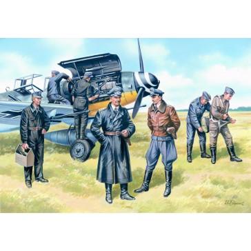 ICM WWII Luftwaffe Pilots & Gr.1/48