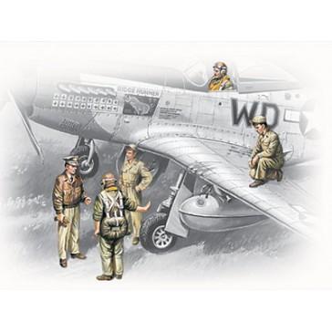 ICM USAAF Pilots&Ground '41-45 1/48