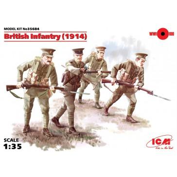 British Infantry WWI 1/35