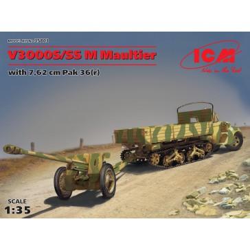 V3000S SS M Maultier 7,62cm Pk 1/35