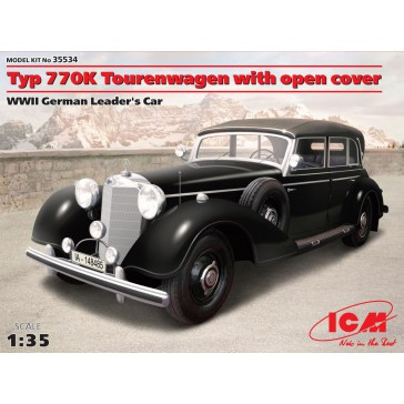 Typ 770K with Open Cover WWII 1/35
