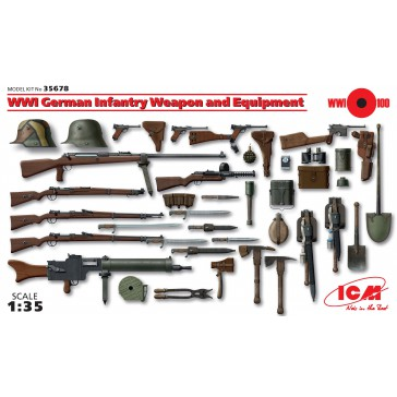 WWI German Inf. Weapons 1/35