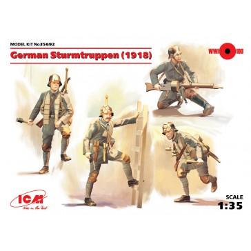 German Sturmtruppen (1918) (4) 1/35