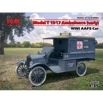Model T 1917 Ambulance (early). WWI