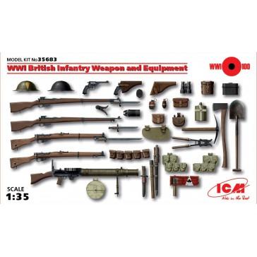 WWI British Inf. Weap & Equipm.1/35