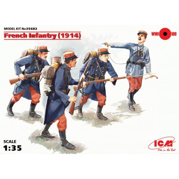 French Infantry 1/35