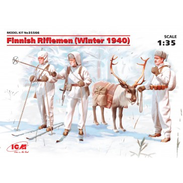 Finnish Rifflemen Winter 1940 1/35