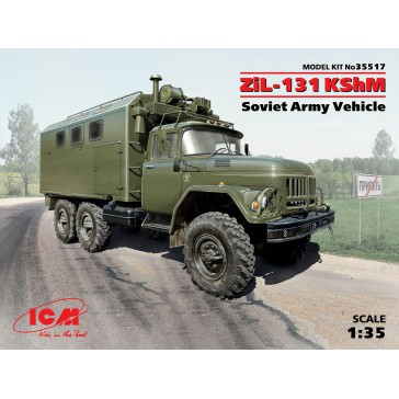 ZIL-131 Kshm Sov.Army Vehicle 1/35