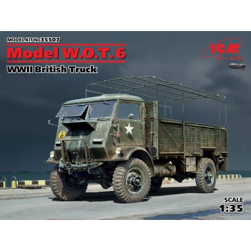 Model W.O.T. 6. WWII British Truck