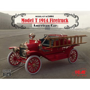 Model T 1914 Firetruck 1/24