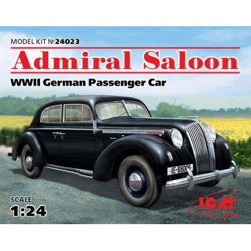 Admiral Saloon WWII German Car 1/24